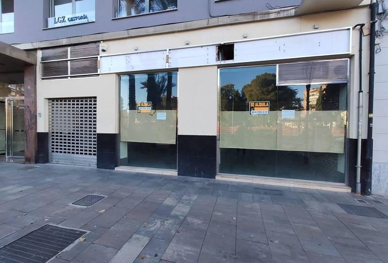 Foto 1 de Local de alquiler en Plaza Circular, 6, Centro, Murcia