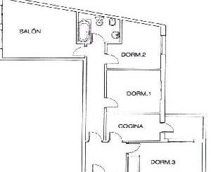 Apartamento en venta en C/ Santa Barbara Nº 5 Pl 3 Pta E, Torrelaguna
