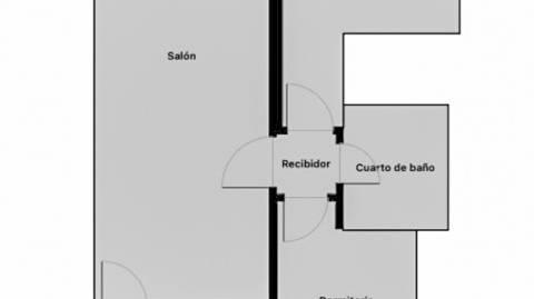 Foto 2 de Piso de alquiler con opción a compra en Travesía Dos de Mayo, Centro, Madrid