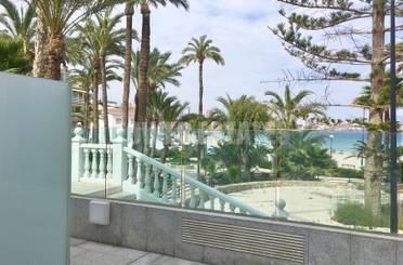 Planta baja de alquiler en Playa Poniente