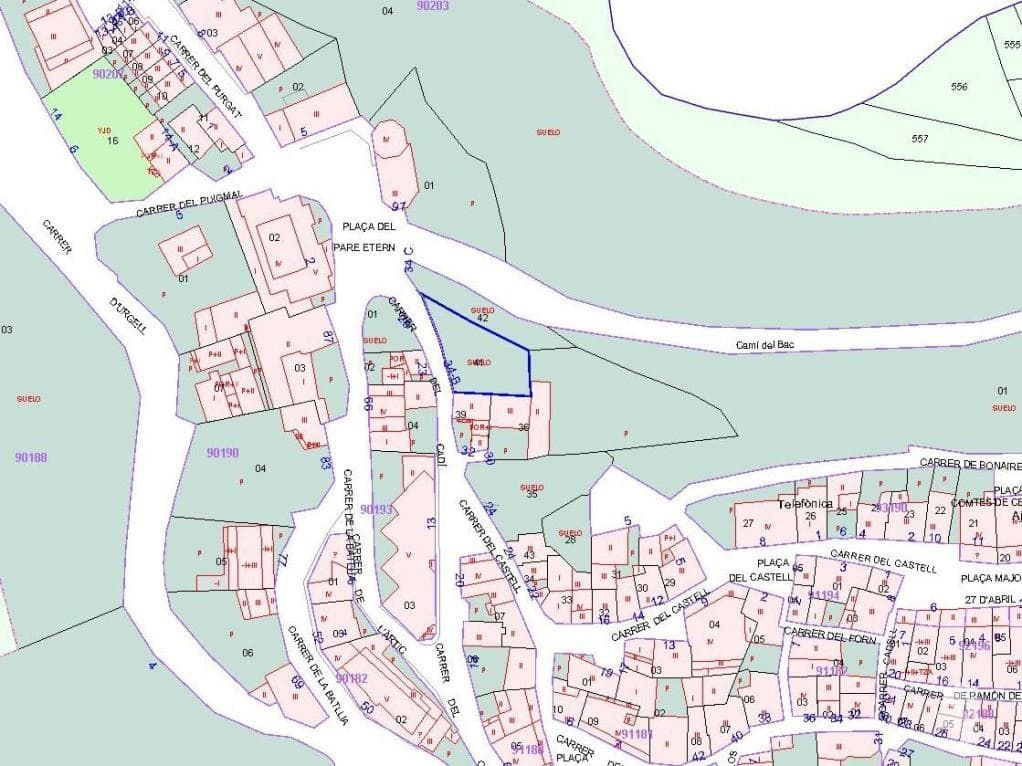 Terrain urbain à Bellver de Cerdanya. Urbanizable en venta en bellver de cerdanya, bellver de cerdanya