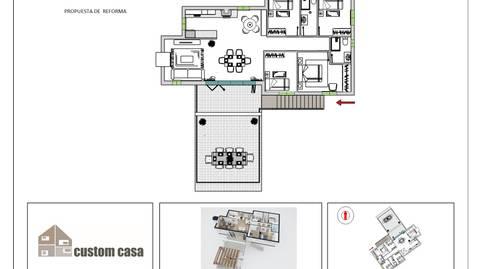 Foto 3 de Casa o chalet en venta en Genovés, Valencia