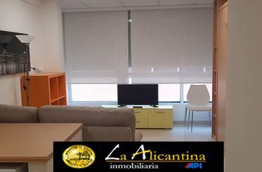 Estudio de alquiler en Calle Torres Quevedo, Alicante / Alacant